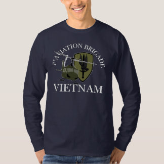 1st AVN BDE Vietnam Vet Huey T-shirts
