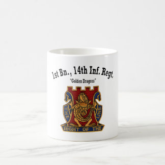 "1st Battalion, 14th Inf ""Golden Dragons"" - Cup"