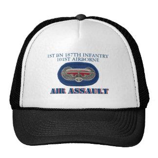 1ST BATTALION 187TH INFANTRY 101ST AIRBORNE HAT TRUCKER HAT