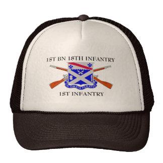 1ST BATTALION 18TH INFANTRY 1ST INFANTRY HAT