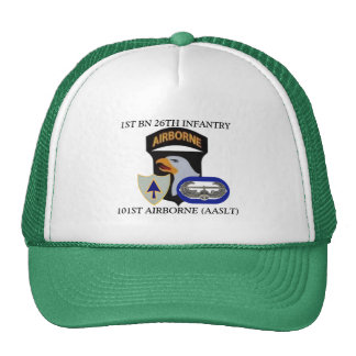 1ST BATTALION 26TH INFANTRY 101ST AIRBORNE HAT