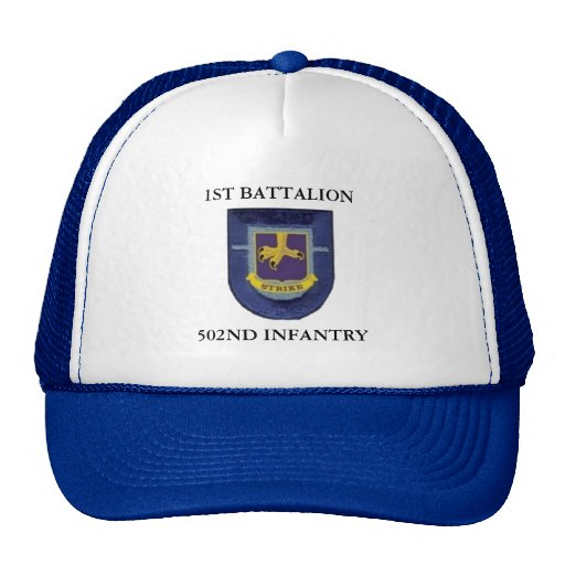 1ST BATTALION 502ND INFANTRY HAT