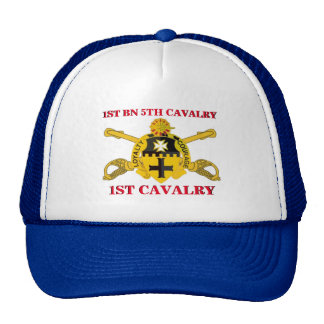 1ST BATTALION 5TH CAVALRY 1ST CAVALRY HAT