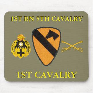 1ST BATTALION 5TH CAVALRY 1ST CAVALRY MOUSEPAD