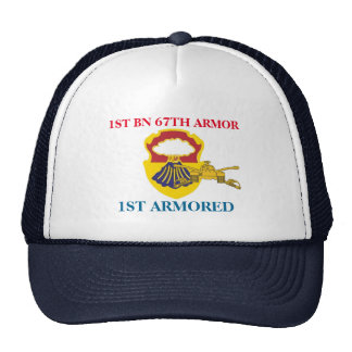 1ST BATTALION 67TH ARMOR 1ST ARMORED HAT