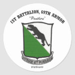 1st Battalion, 69th Armour Stickers
