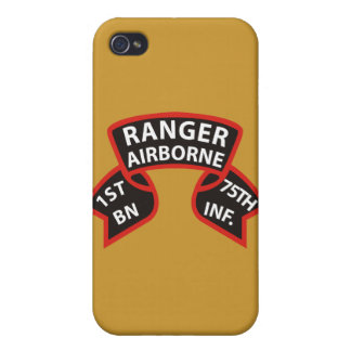 1st Battalion 75th Infantry Ranger A/B iPhone 4/4S Case