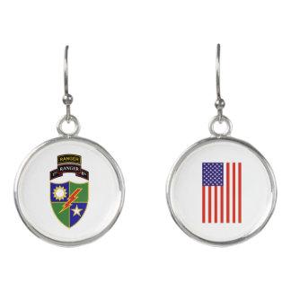 1st Battalion - 75th Ranger Regiment Earrings
