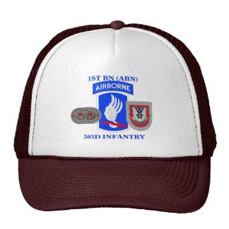 1ST BATTALION (ABN) 503D INFANTRY HAT