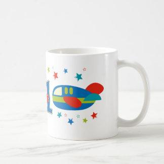1st Birthday Airplane Mugs