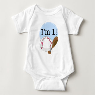 1st Birthday Baseball Kids T Shirts