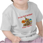 1st Birthday Bear Tee Shirt
