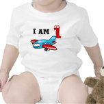 1st birthday boy gift ( aeroplane ) baby bodysuits