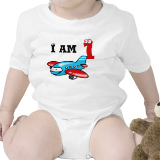 1st birthday boy gift ( airplane ) bodysuit
