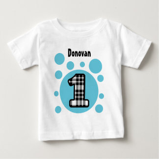 1st Birthday Bubbles One Year Old V10Q Baby T-Shirt