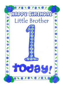 Little Brother Cards