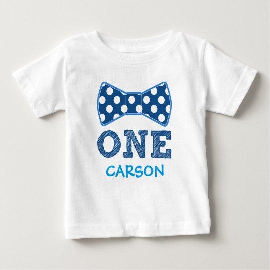 1st Birthday - Custom Name -Bow Tie Baby