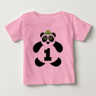 1st Birthday Cute Panda T-shirts