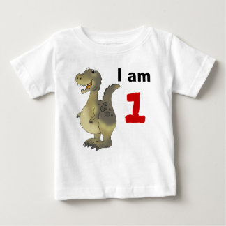 1st birthday dinosaur gift idea baby T-Shirt