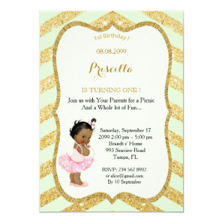 1st Birthday GIRL,Ethnic 1st Birthday,1st Birthday Card