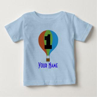 1st Birthday Hot Air Balloon Baby T-Shirt