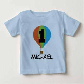 1st Birthday Hot Air Balloon Boys T-shirt