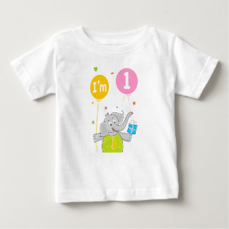 1st Birthday I am 1 Years Old Baby T-Shirt