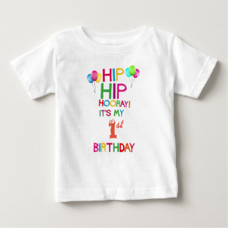 1st Birthday Party T Shirt - Add Any Age!