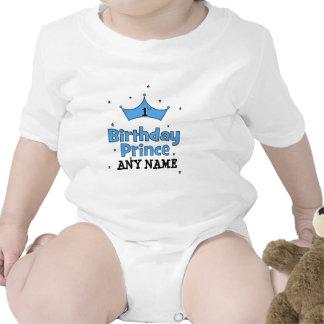 1st Birthday Prince Baby Bodysuits