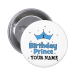 1st Birthday Prince Badges