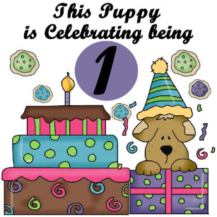 1st Birthday Puppy T Shirts And Gifts Tote Bag