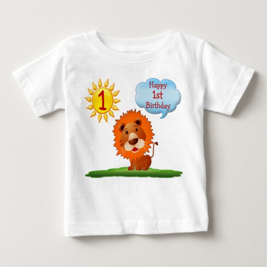 1st Birthday T Shirts for Boys with Cute
