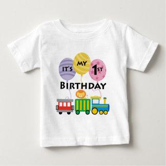 1st Birthday Train Birthday T-shirts
