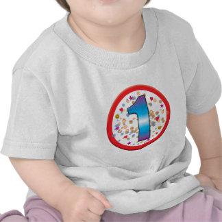 1st Birthday v2 Tee Shirts