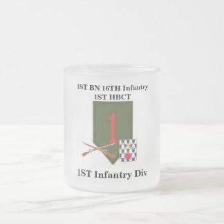 1st Bn 16th Inf 1st HBCT 1st Inf Div Jumbo Mug