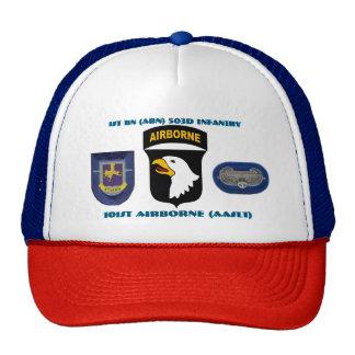 1ST BN (ABN) 502D INFANTRY 101ST AIRBORNE HAT