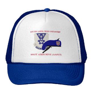 1ST BN (ABN) 503D INFANTRY 101ST AIRBORNE HAT