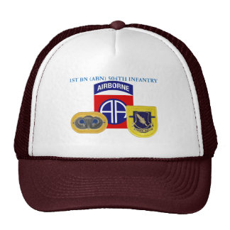 1ST BN (ABN) 504TH INFANTRY 82ND AIRBORNE HAT