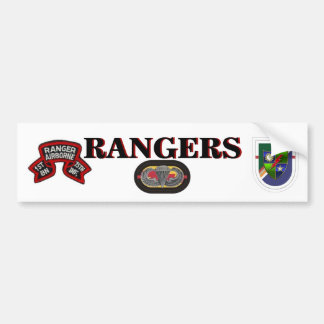 1ST BN (RANGER) 75TH Infantry Bumper Sticker