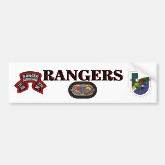 1ST BN (RANGER) 75TH Infantry Bumper Sticker Car Bumper Sticker