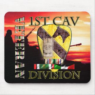 1st Cav DIV Desert Storm Veteran Mouse Pad