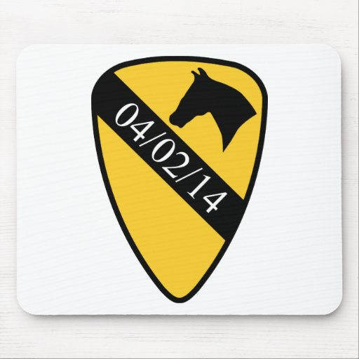 1st Cav. Fort Hood Mouse Pad