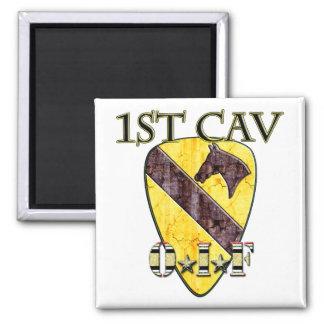 1st Cav OIF Square Magnet
