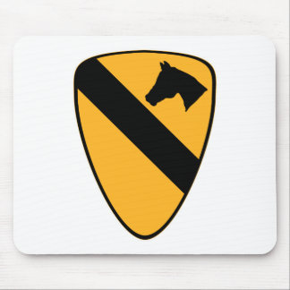 1st Cav Patch Mouse Mat