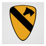 1st Cav Patch Posters