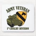 1st Cav Vet - Bradley Mouse Mat