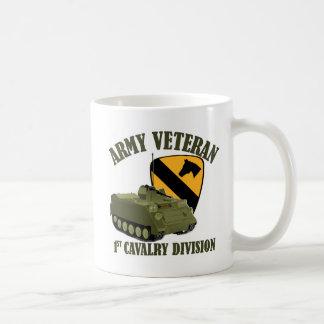 1st Cav Vet - M113 APC Basic White Mug
