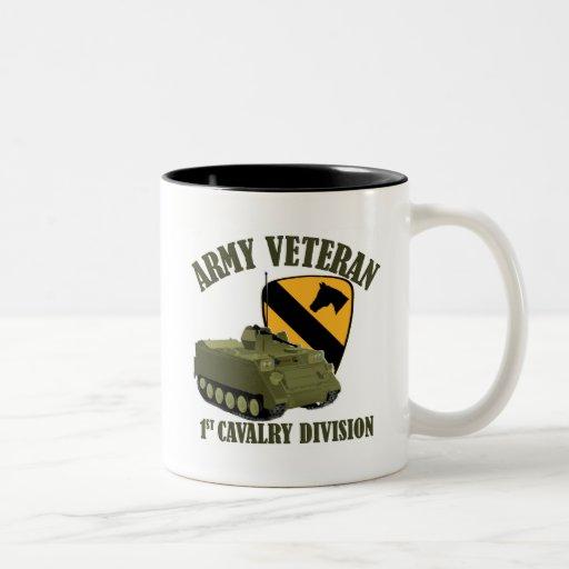 1st Cav Vet - M113 APC Coffee Mug