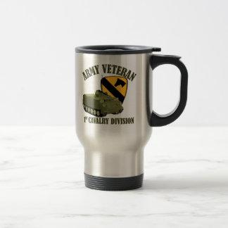 1st Cav Vet - M113 APC Travel Mug