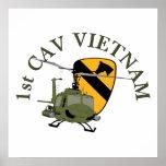 1st Cav Vietnam Poster